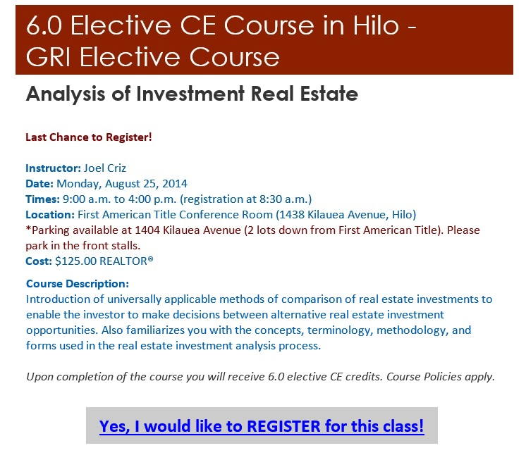 GRI Analysis of Investment 8-25-2014